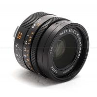 LEICA 28MM F/2 ASPH. SUMMICRON-M BLACK (6-BIT CODED) LENS #11672 USA NEW! IN STOCK!