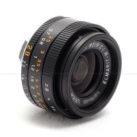 LEICA 28MM F/2.8 ASPH. ELMARIT-M BLACK (6-BIT CODED) LENS #11677 USA NEW!  NOW IN STOCK!