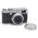 FUJIFILM X100T SILVER DIGITAL CAMERA BODY USA NEW